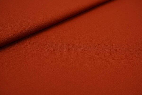 Fester Jerseystoff Romanit Jersey uni rostrot orange