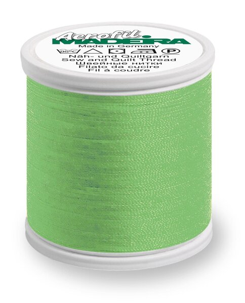 Madeira Nähgarn Aerofil No. 35 extra stark Farbe 8995 hell apfelgrün