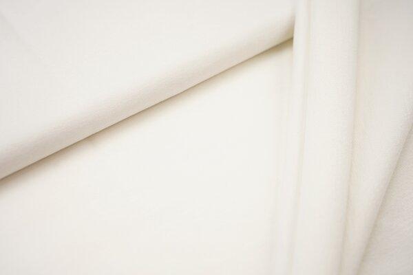Organic Cotton Emma Baumwoll Sweat French Terry uni cremeweiss off white
