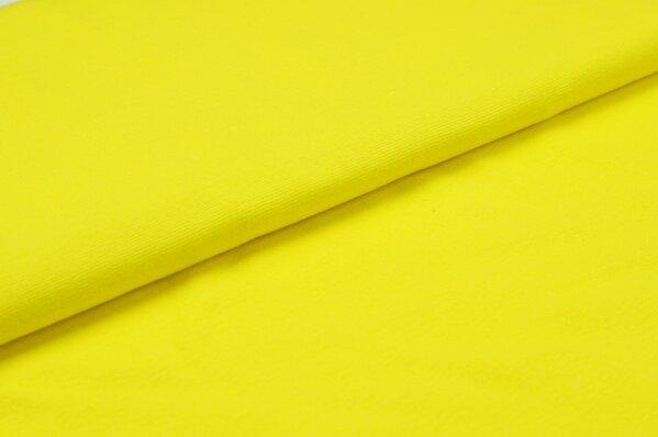 XXL Bündchen LILLY glatt Schlauchware gelb
