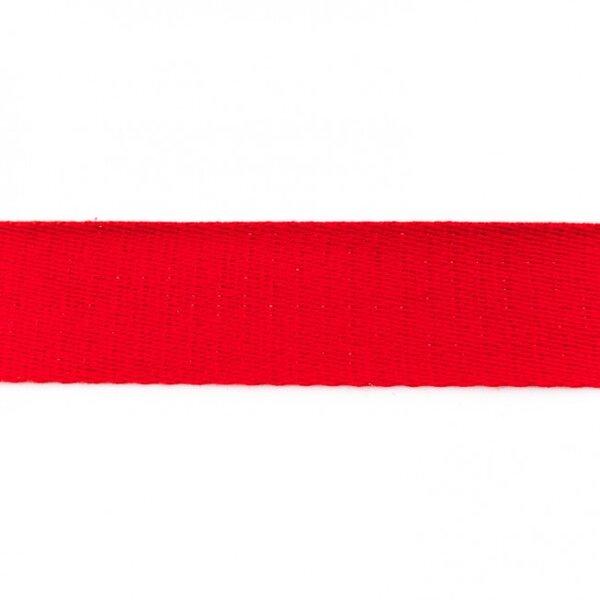 Breites Gurtband uni rot 40 mm