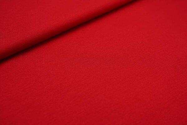 Fester Jerseystoff Romanit Jersey uni dunkel rot
