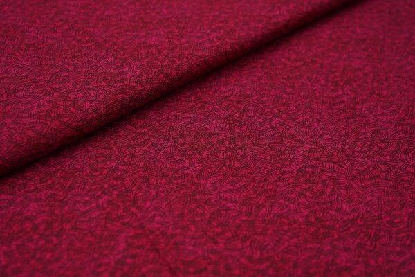 Baumwollstoff aus Dänemark Strichmuster Colour Harmony auf fuchsia beere pink