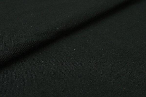 XXL T-Shirt Stoff LILLY uni schwarz