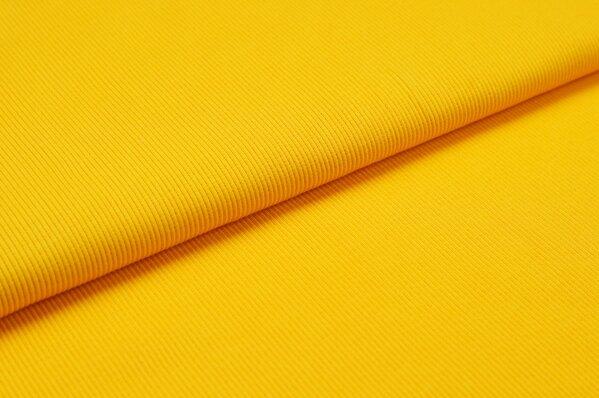 XXL Bündchen LILLY gerippt Schlauchware orange gelb