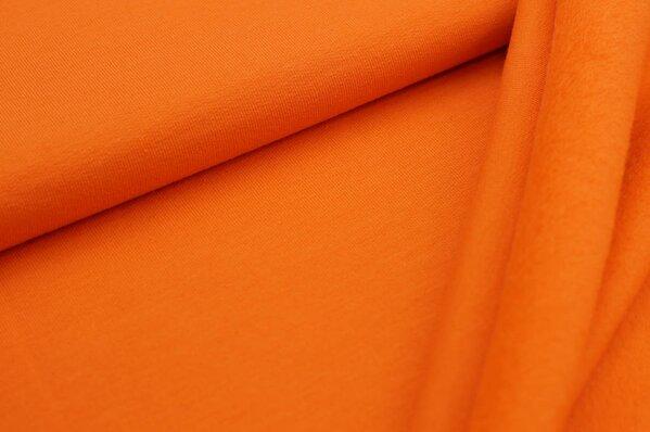 Kuscheliger Baumwoll-Sweat EIKE uni orange French Terry