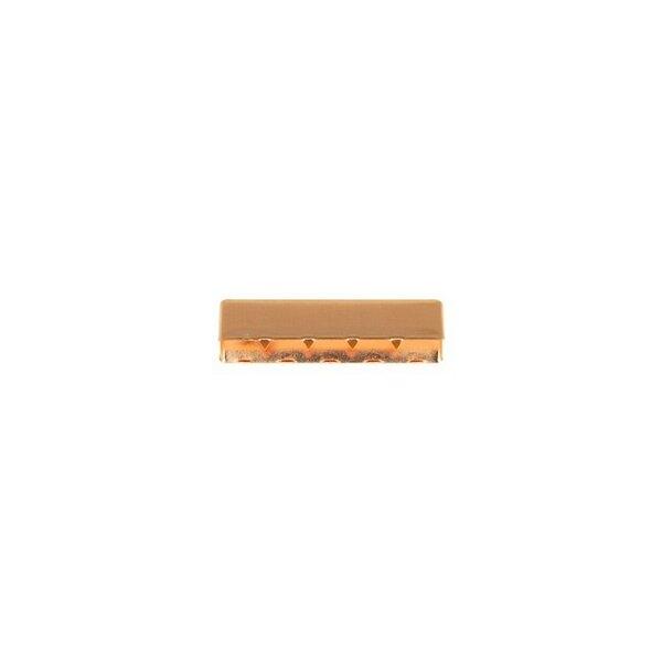 Metall Endstück 40 mm kupfer roségold