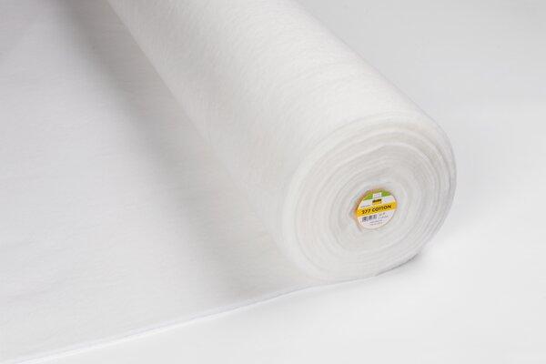 Vlieseline Volumenvlies 277 Baumwollvlies weiß