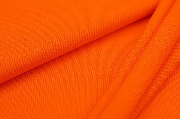 Canvas-Stoff Dekostoff uni orange