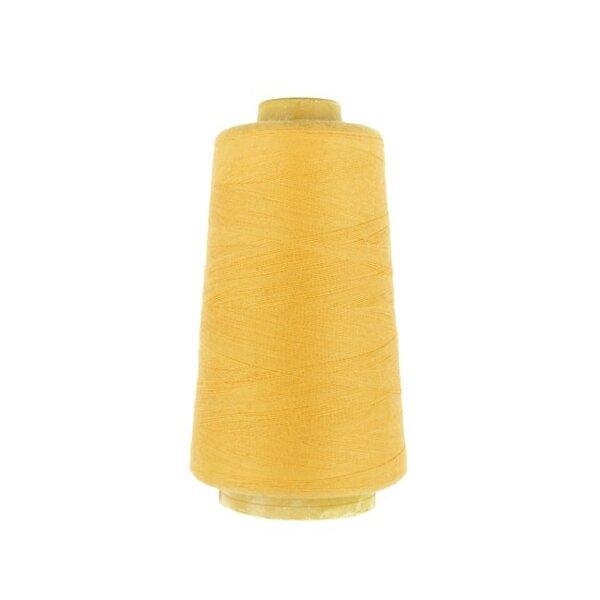 1 Rolle Overlockgarn Nähgarn gelb 2740 m Lauflänge 40 S20 Fadenstärke