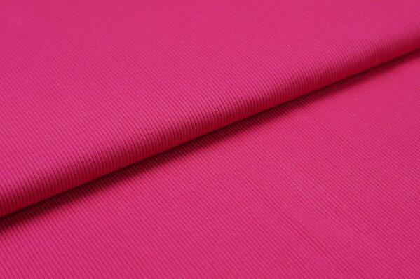 XXL Bündchen LILLY gerippt Schlauchware pink