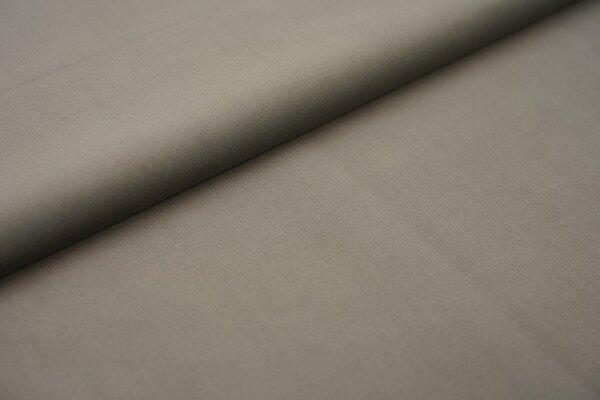 Samtiger Velours Dekostoff Velvet einfarbig uni grau