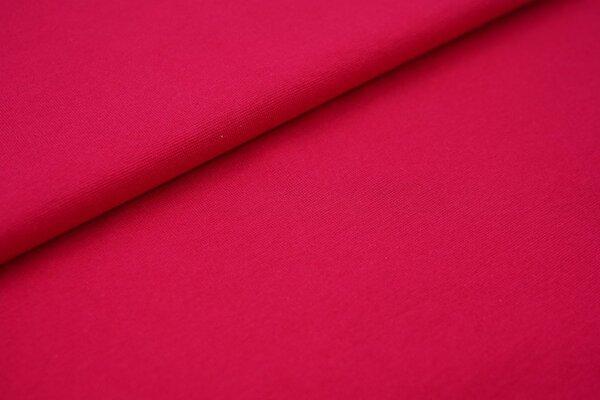 Bündchen glatt uni dunkel pink