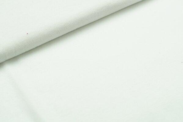 XXL T-Shirt Stoff LILLY uni weiß
