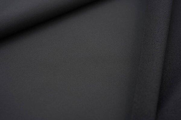 Softshell-Stoff uni dunkelgrau