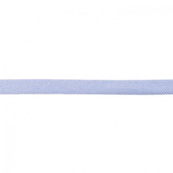 Kordel flach uni hellblau 20 mm breit