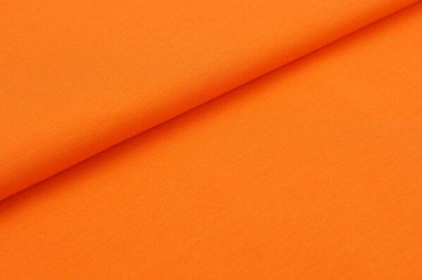 XXL Baumwoll-Jersey Marie uni orange