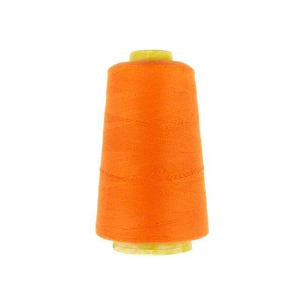 1 Rolle Overlockgarn Nähgarn orange 2740 m Lauflänge 40 S20 Fadenstärke