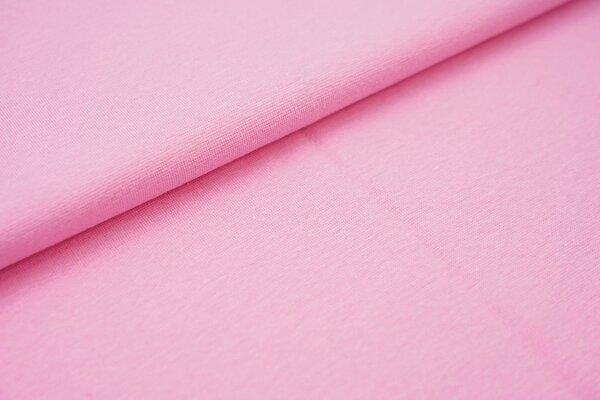 Bündchen glatt uni rosa