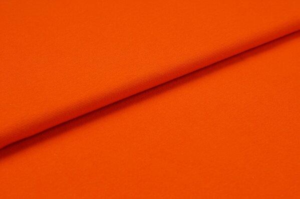 XXL Bündchen LILLY glatt Schlauchware orange