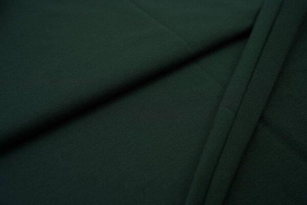 Baumwoll Sweatstoff uni dunkelgrün