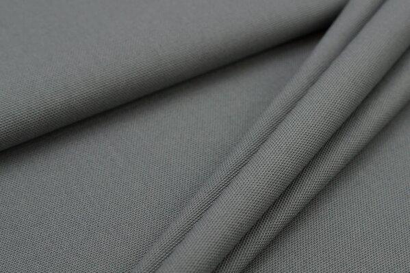 Canvas-Stoff Dekostoff uni grau