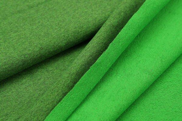 XXL Sommersweat LILLY grün meliert
