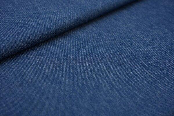 Jeansstoff mit Stretch jeansblau