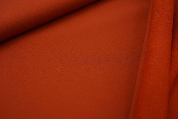 Softshell-Stoff uni rostorange