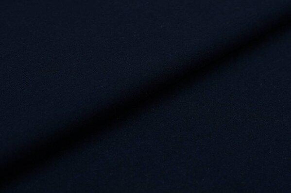 XXL Baumwoll-Jersey Marie uni sehr dunkelblau