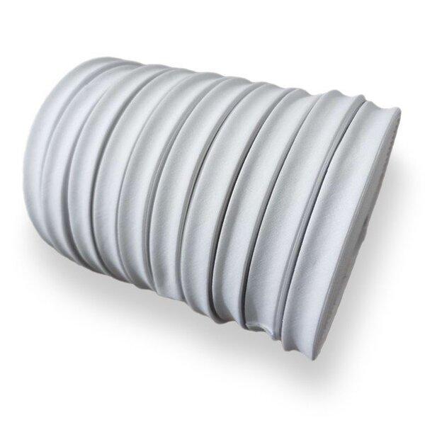 Kochfestes Schrägband Baumwolle uni weiß 2 cm breit