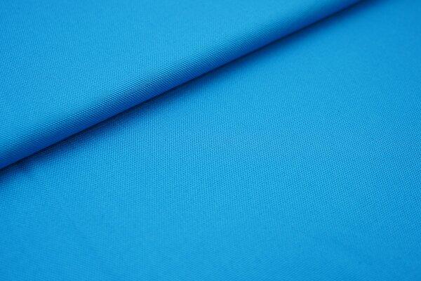 Canvas-Stoff Baumwoll Dekostoff einfarbig uni türkis