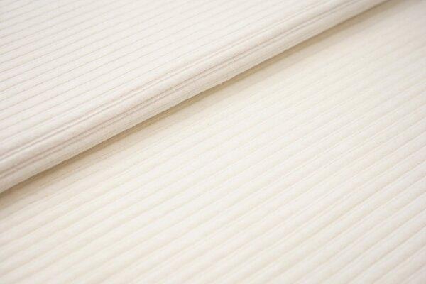 Breitcord Jersey uni creme off white