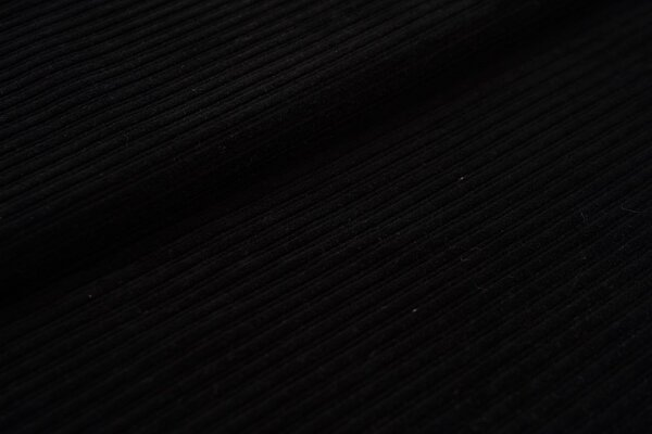 Breitcord Jersey uni schwarz