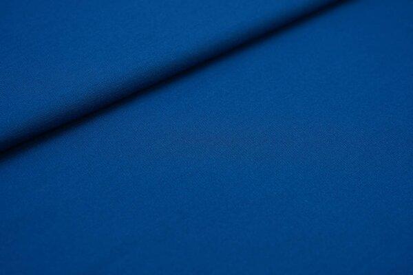 Fester Jerseystoff Romanit Jersey uni petrol blau