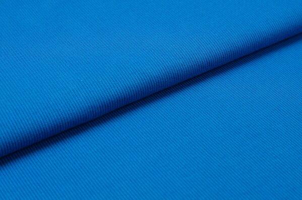 XXL Bündchen LILLY gerippt Schlauchware blau