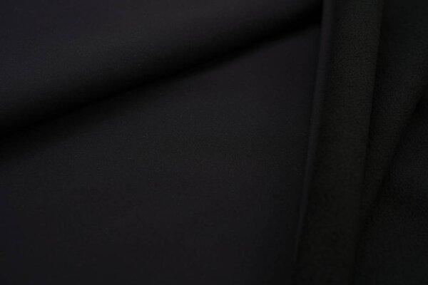 Softshell-Stoff uni schwarz