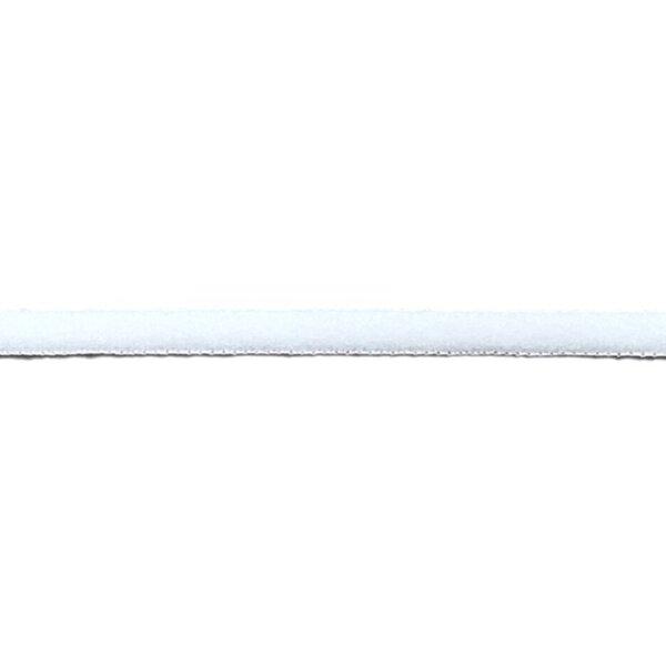 Kochfestes elastisches Gummiband für Masken uni weiß rund 5 mm