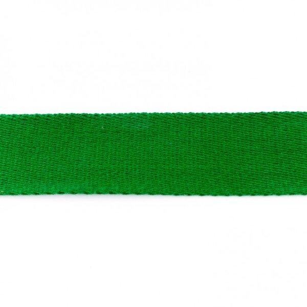 Breites Gurtband uni grün 40 mm