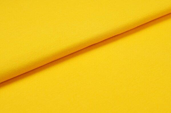XXL Bündchen LILLY glatt Schlauchware orange gelb