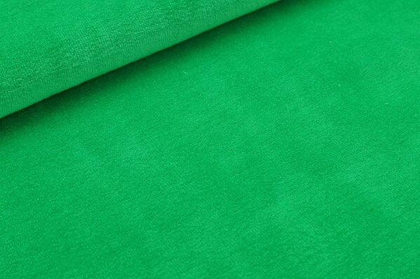 Nicki Stoff uni apfelgrün