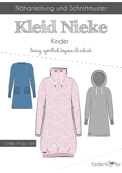 fadenkäfer Schnittmuster Kinder Kleid Nieke