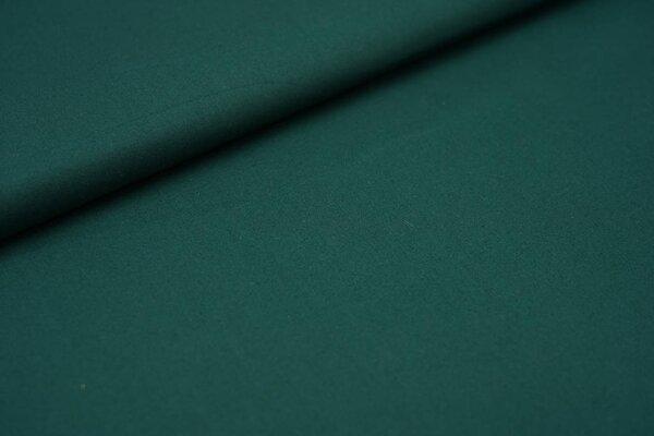 Baumwollstoff uni waldgrün