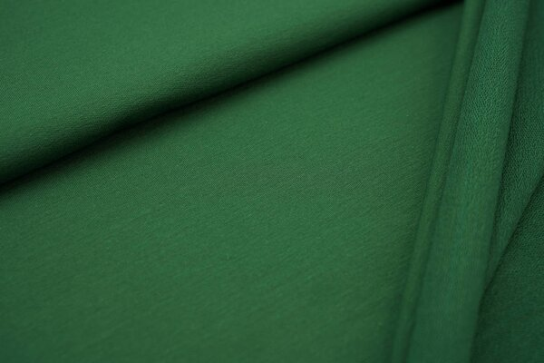 Baumwoll-Sweat MARIE uni dunkelgrün