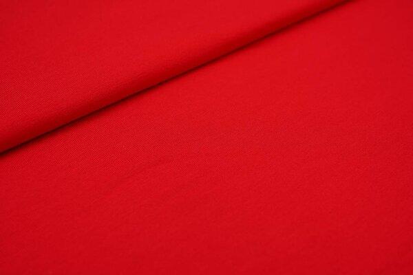 Viskose-Jersey uni rot