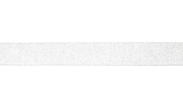 Viskose-Jersey Schrägband uni weiß 20 mm Einfassband