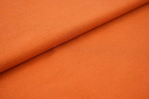 Traumbeere XXL Bündchen LILLY gerippt Schlauchware terrakotta orange