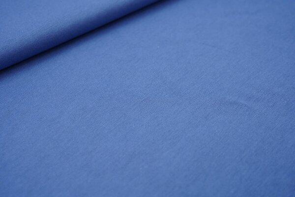 Sommer T-Shirt-Stoff / leichter Jersey uni taupe blau