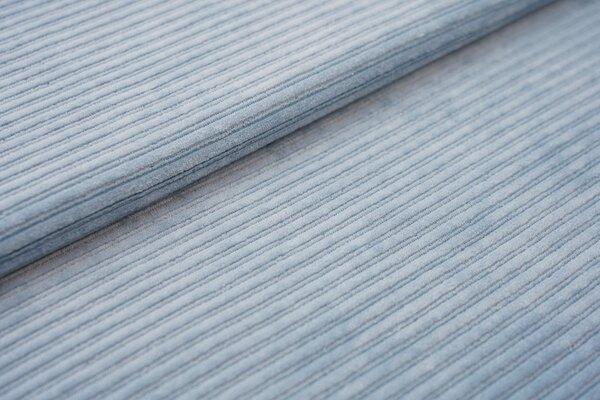 Breitcord Jersey uni jeansblau