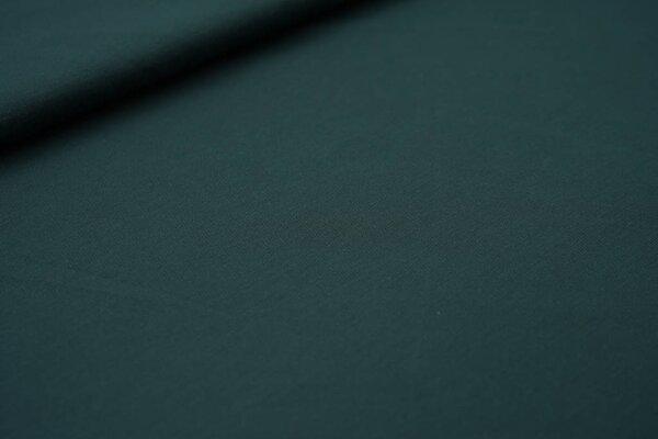 Sportstoff uni dunkelgrün